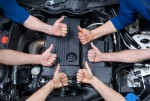 Benders Aut0motive Auto Repair Mechanics Thumbs Up