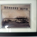 Vintage Benders Auto Care Photo on the Wall