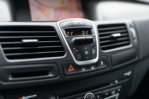 Car air condition console