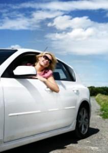 woman, car, smile, auto repair, glendora, covina, west covina